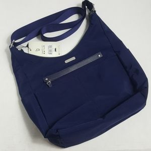 NWT Baggallini large crossbody tote purse navy